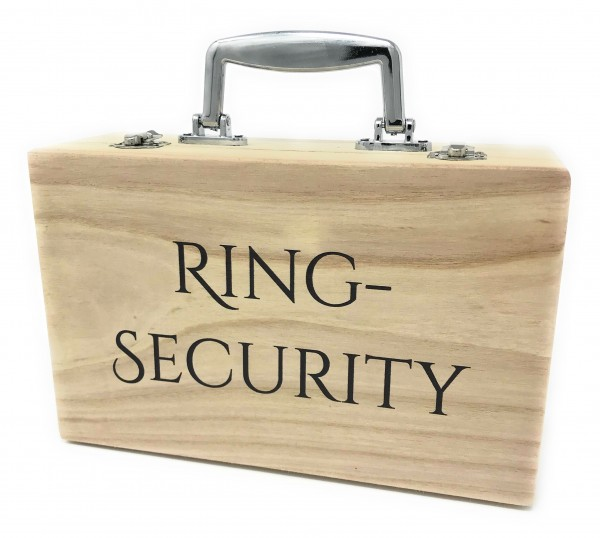 Holzkoffer Ring Security