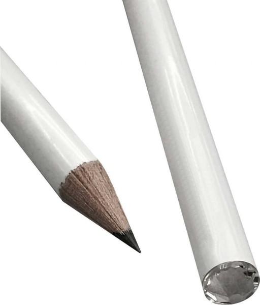 Bleistifte Swarowski Glitzer Stein Kristall personalisiert